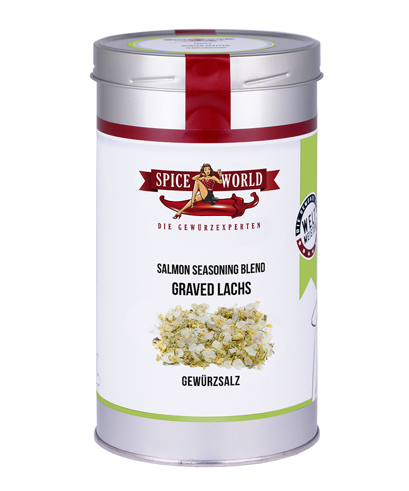 Graved Lachs - Salmon Seasoning Blend, 1333ml Gastro-Dose 1333ml Gastro-Dose