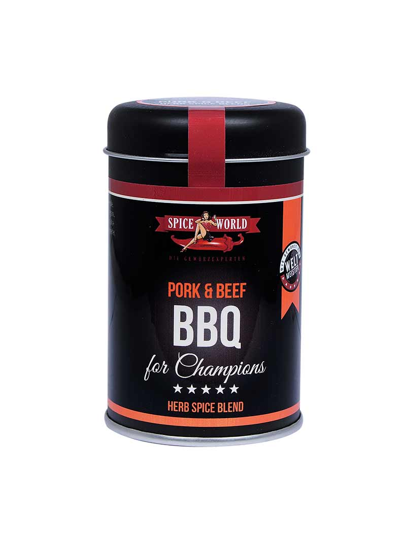 Barbecue-for-Champions Pork & Beef - Herb Spice Blend, 80g Streudose