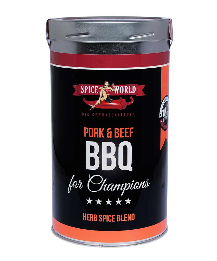 Barbecue-for-Champions Pork & Beef - Herb Spice Blend, 1333ml Gastro-Dose