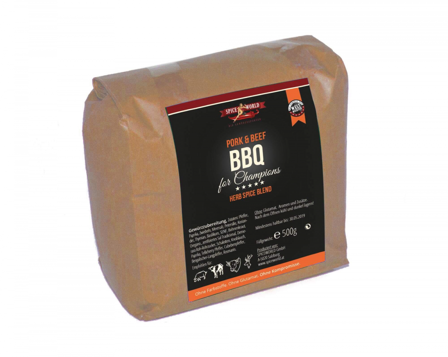 Barbecue for Champions - Magic Dust - Red BBQ Rub - 500g Beutel 500g Beutel