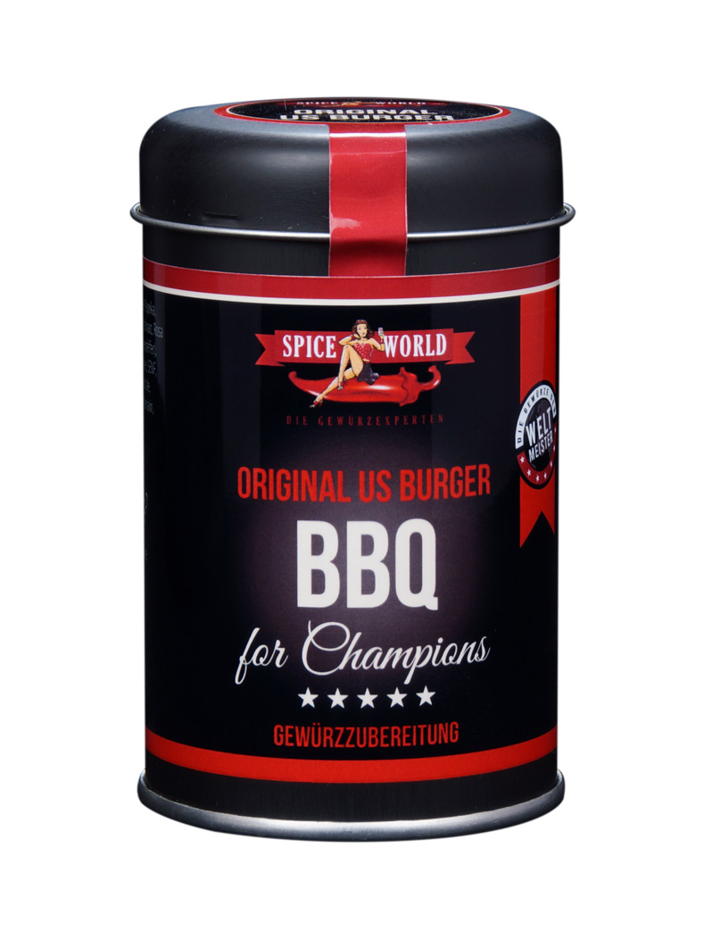 Barbecue-for-Champions - Burgergewürz - American Classic Style, 90g Streudose