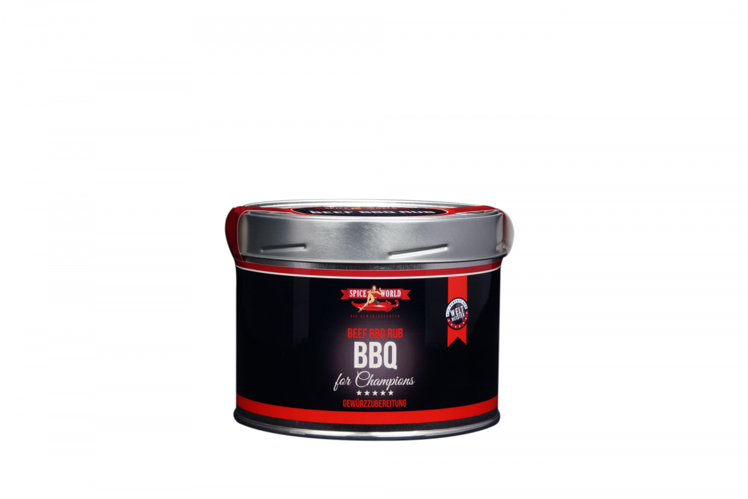 Barbecue-for-Champions - BBQ Beef-Rub, 550ml Gastro-Dose
