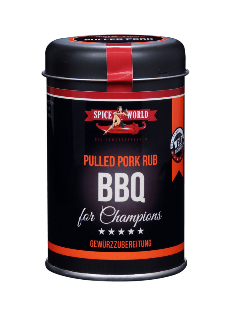 Barbecue-for-Champions - Pulled Pork BBQ Rub, 100g Streudose