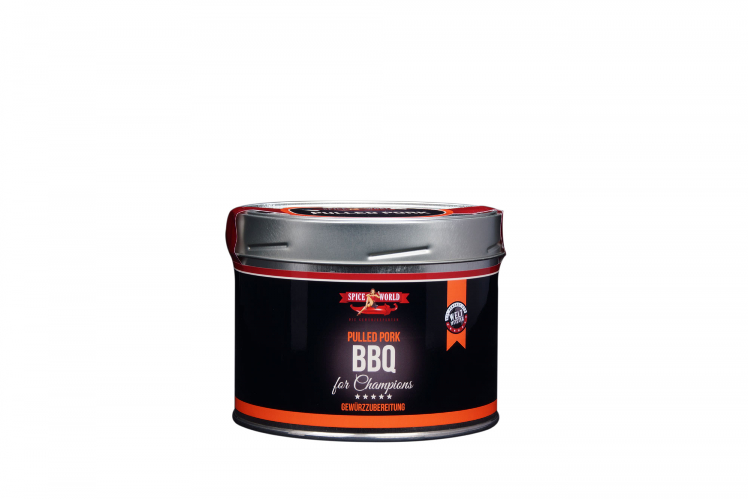 Barbecue-for-Champions - Pulled Pork BBQ Rub, 550ml Gastro-Dose 550ml Gastro-Dose