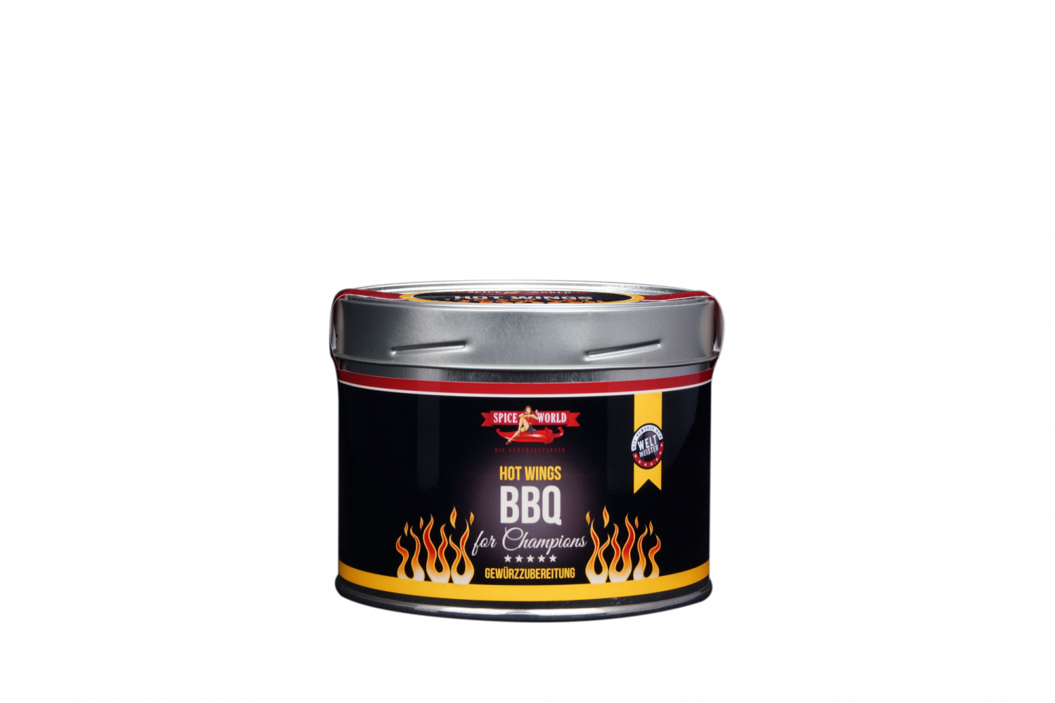 Barbecue-for-Champions Hot Wings - Geflügel , 550ml Gastro-Dos 550ml Gastro-Dose