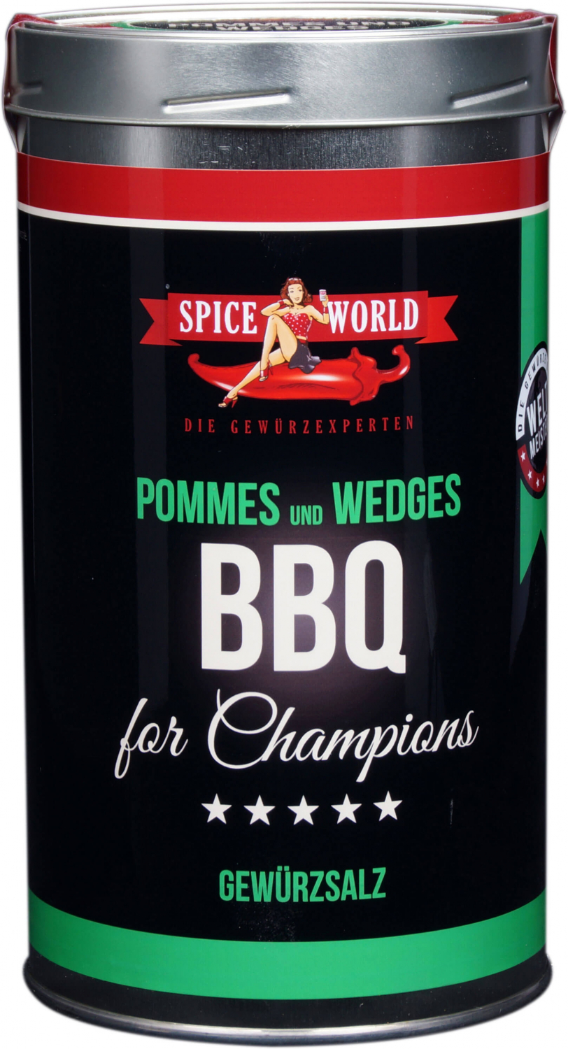 Barbecue-for-Champions Wedges - Pommes, 1333ml Gastro-Dose