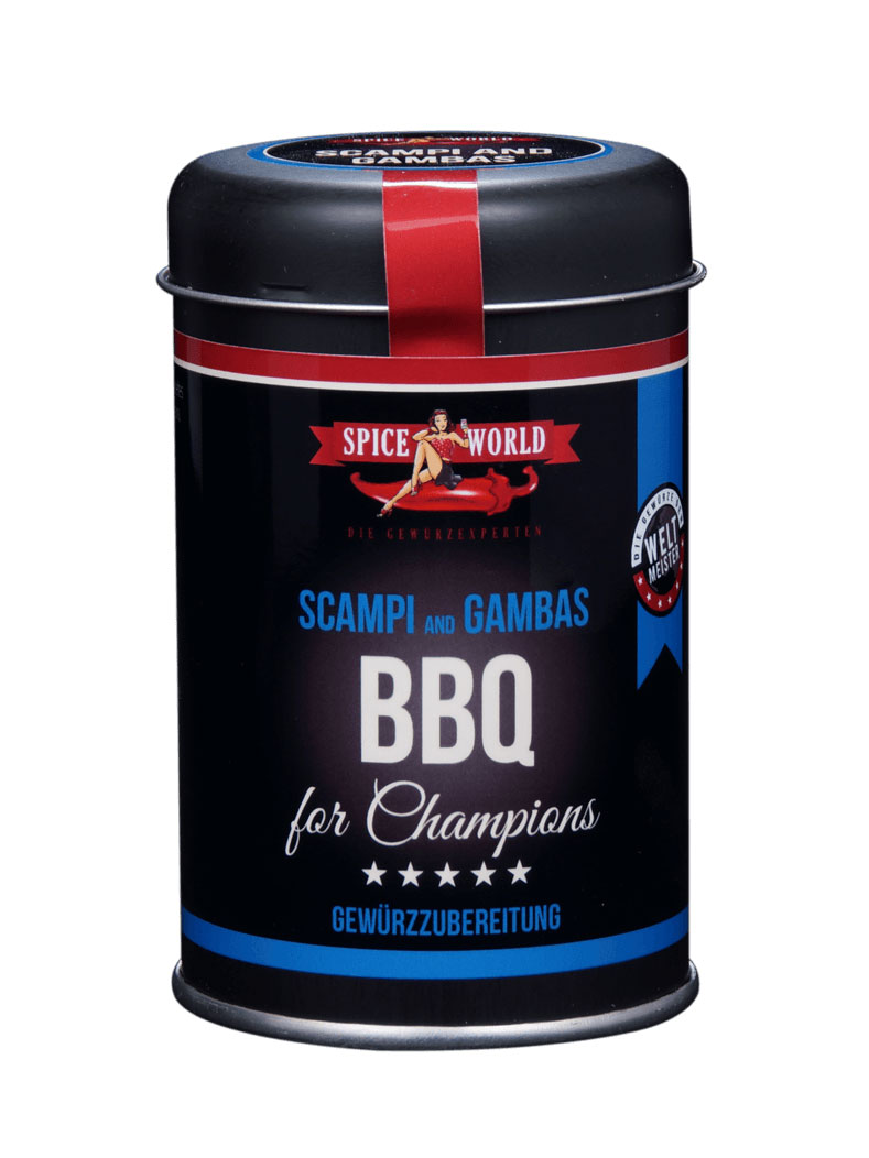 Barbecue-for-Champions Scampi & Gambas , 100g Streudose