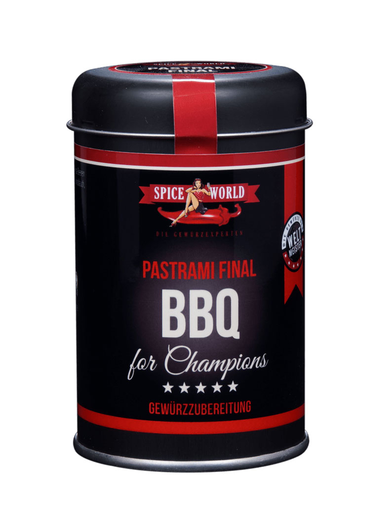 Barbecue-for-Champions - Pastrami-Final, 90g Streudose 95