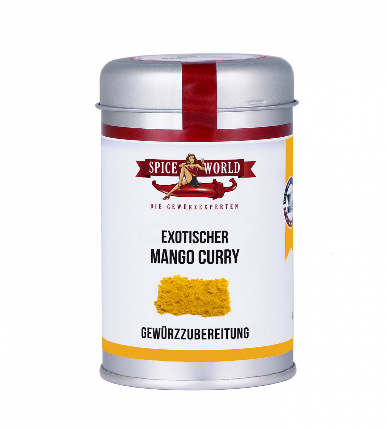 Mango Curry, 90g Streudose