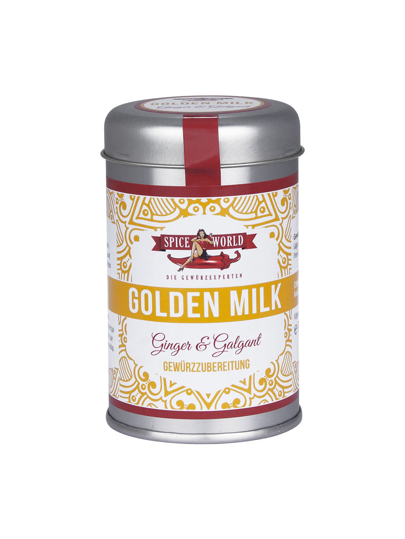 Golden Milk - Ginger and Galgant