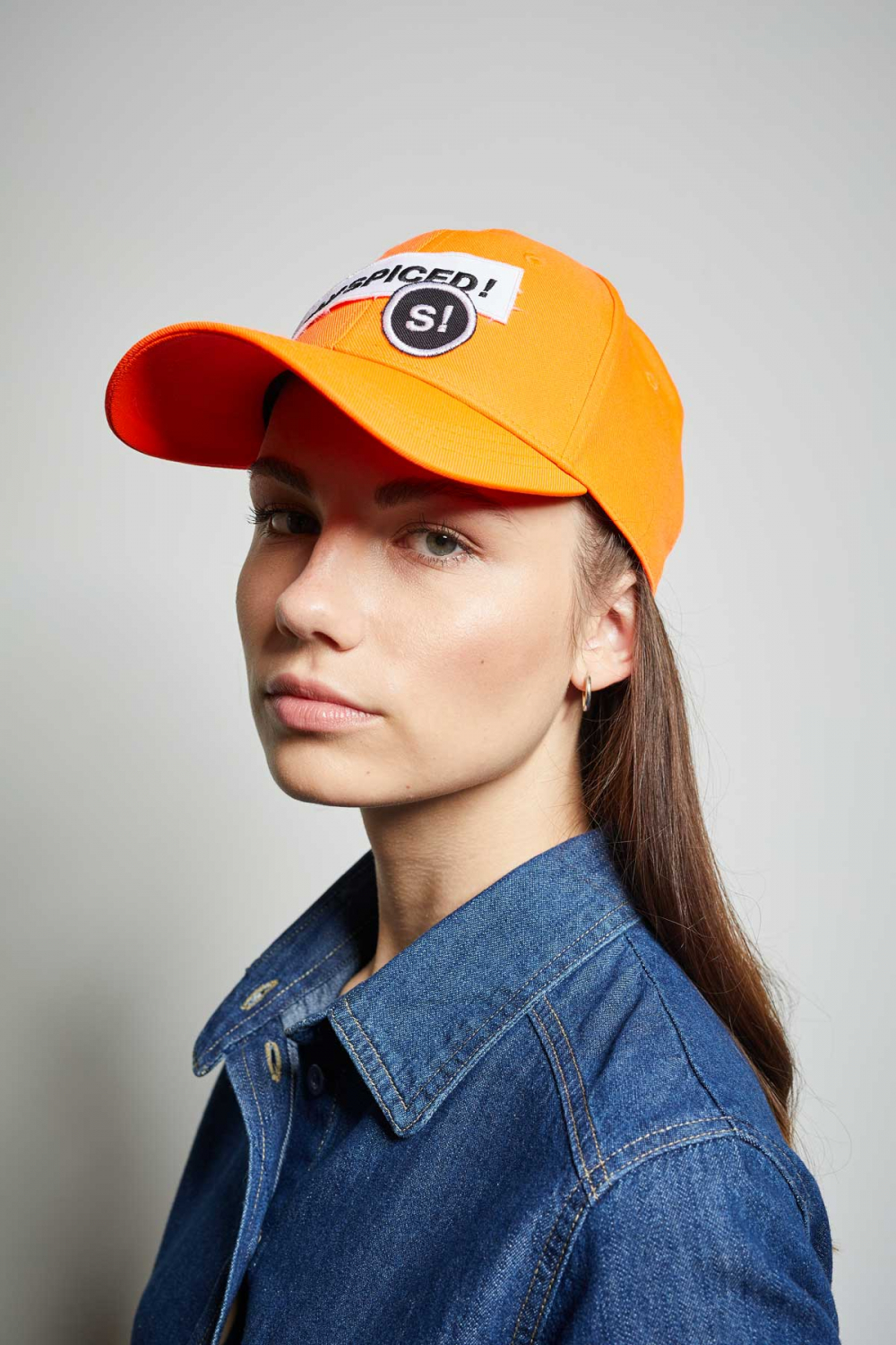 STAY SPICED ! Cappy, orange, UNISEX