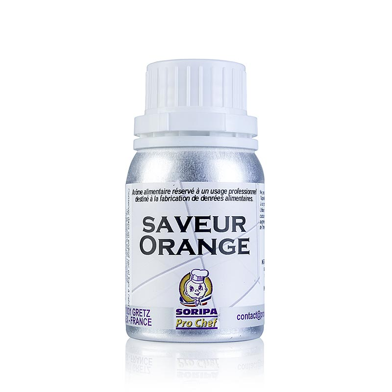 SORIPA Orangen-Aroma, süß - Orange douce, 125 ml DOSE
