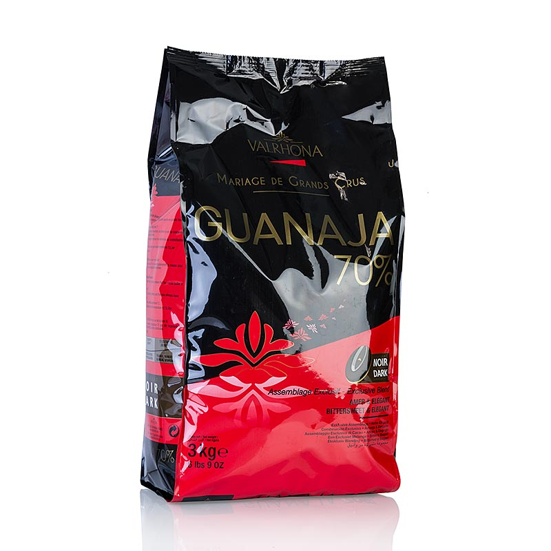 "Guanaja ""Grand Cru"", dunkle Couverture, Callets, 70% Kakao, 3 kg BEUTEL"