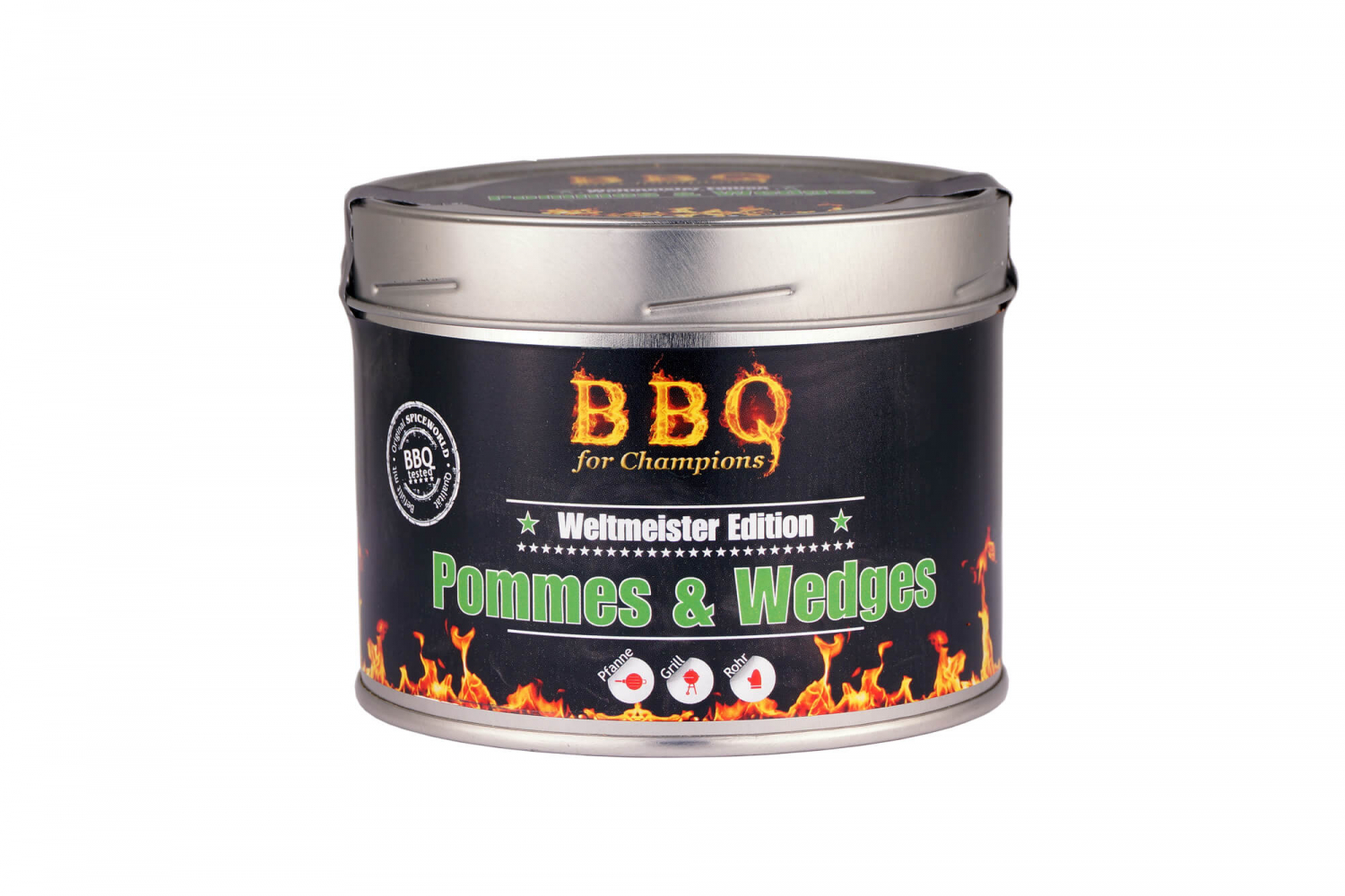 Barbecue-for-Champions Wedges - Pommes, 550ml Gastro-Dose 550ml Gastro-Dose